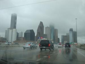 Ma route était sombre et pluvieuse même les jours de soleil